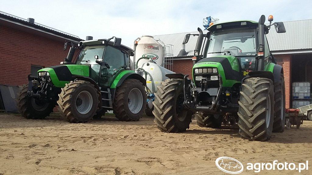 Deutz-Fahr Agrotron 150 & Deutz-Fahr Agrotron K420