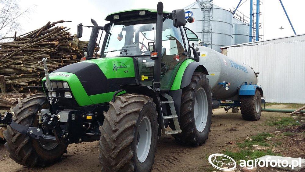Deutz-Fahr Agrotron 150 & Meprozet