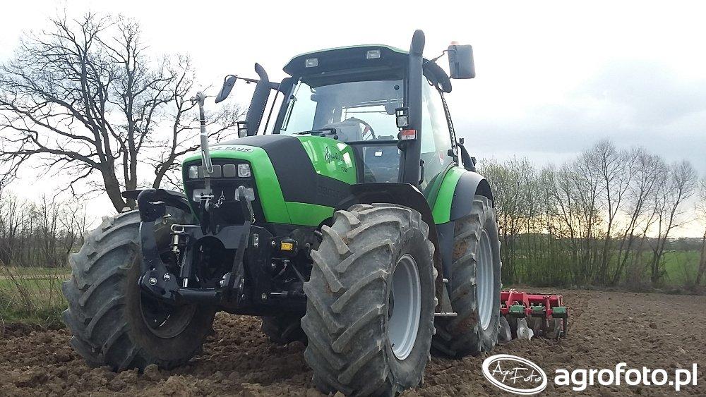 Deutz-Fahr Agrotron 150 & Unia Ares TL300
