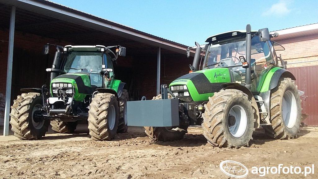 Deutz-Fahr Agrotron 150 & Unia Ibis 3+1 XXL & Agrotron K420