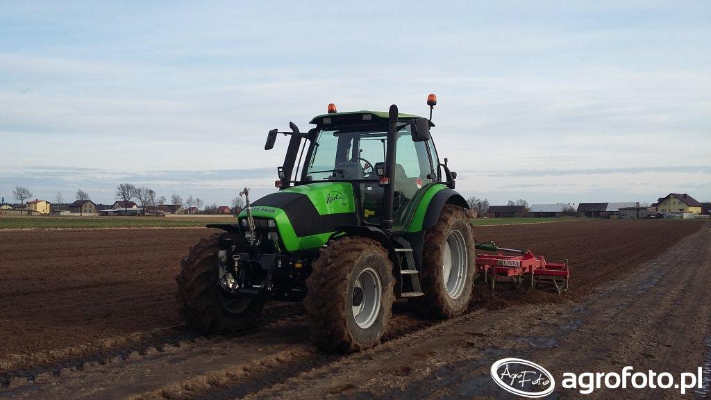 Deutz-Fahr Agrotron 150 & Unia Kos 3.7