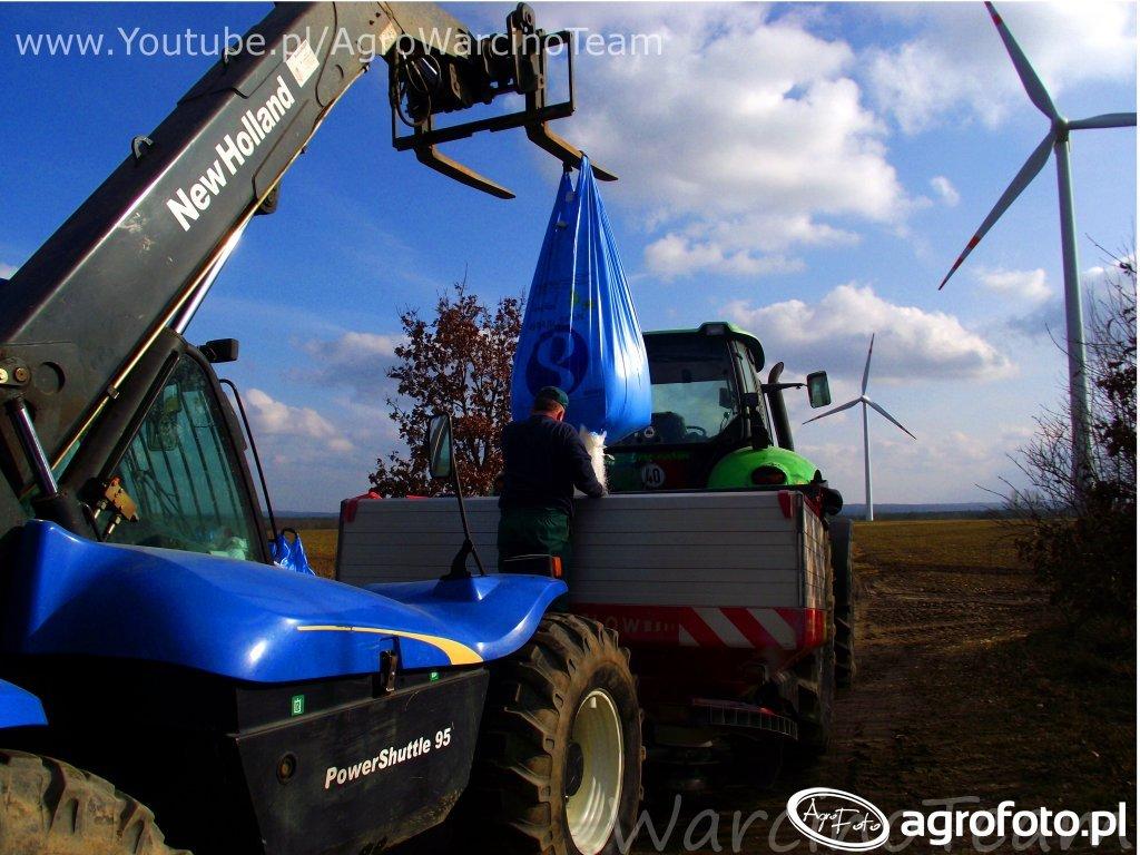 Deutz Fahr Agrotron 265 i Vicon RO-XL New Holland LM435