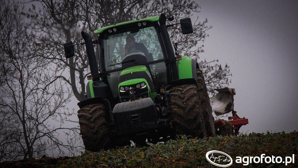 Deutz-Fahr Agrotron 6160 & Unia Ibis 3+1 XXL