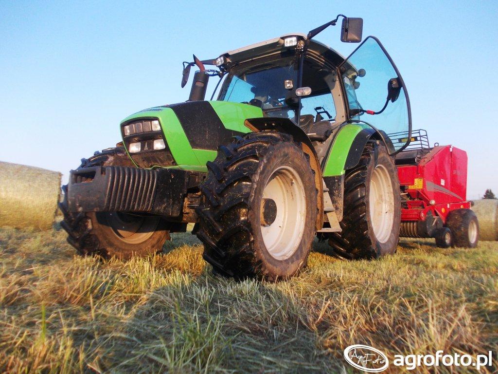 Deutz-Fahr Agrotron K410 + Famarol DF 1.8V