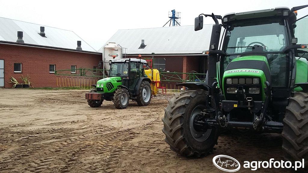 Deutz-Fahr Agrotron K420 &Deutz-Fahr Agroplus 67