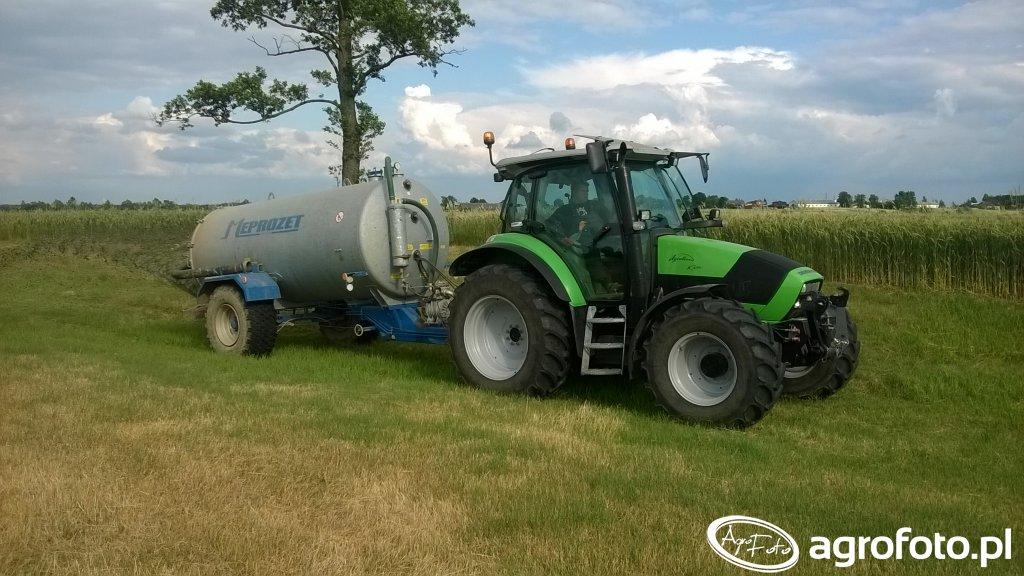 Deutz-Fahr Agrotron K420 & Meprozet 8500