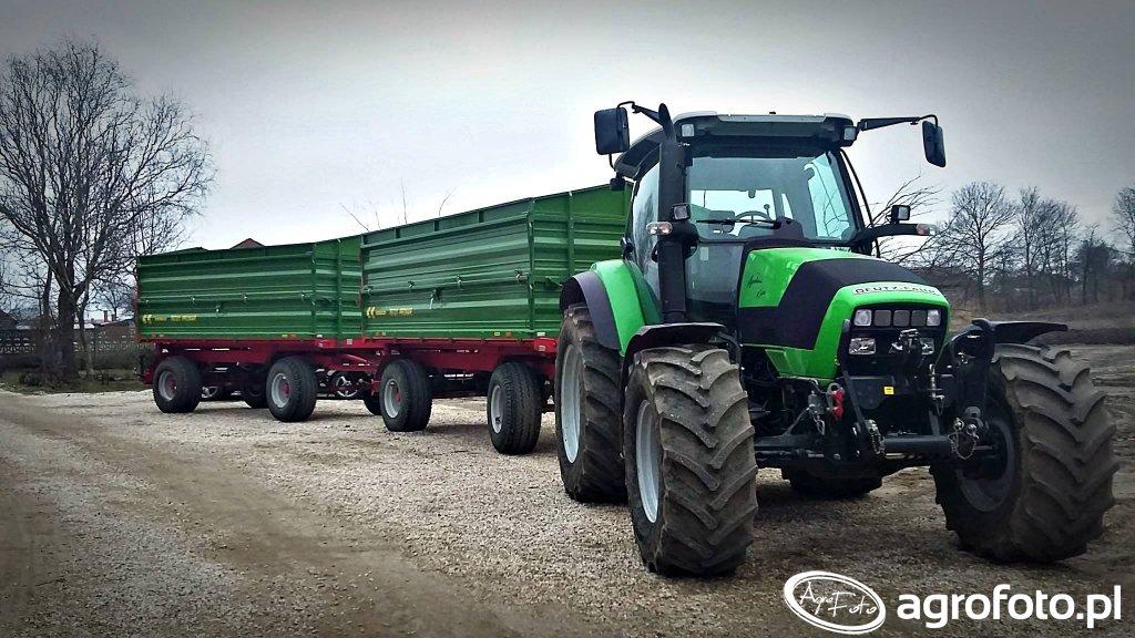 Deutz-Fahr Agrotron K420 & Pronar 672/2 X2