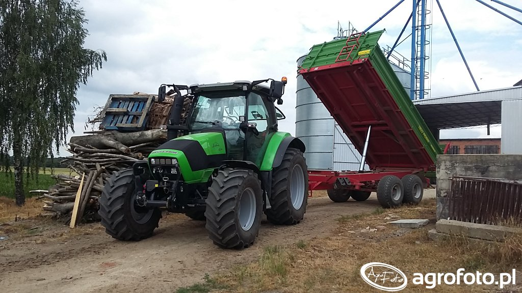 Deutz-Fahr Agrotron K420 & Pronar T663/2
