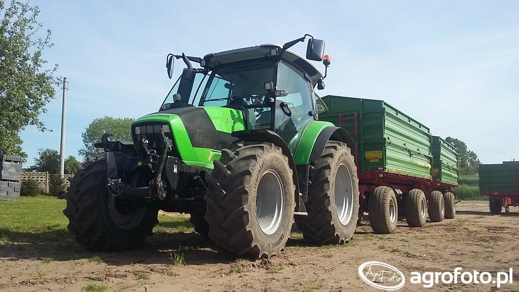 Deutz-Fahr Agrotron K420 & Pronar T672/2 X2