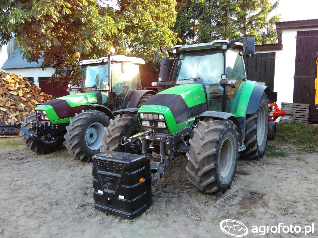 Deutz Fahr Agrotron k610 & Agrofarm 430 G