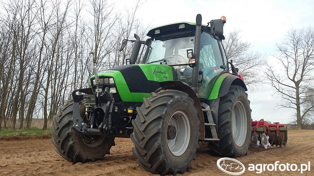 Deutz-Fahr Agrotron & Unia Ares TL300