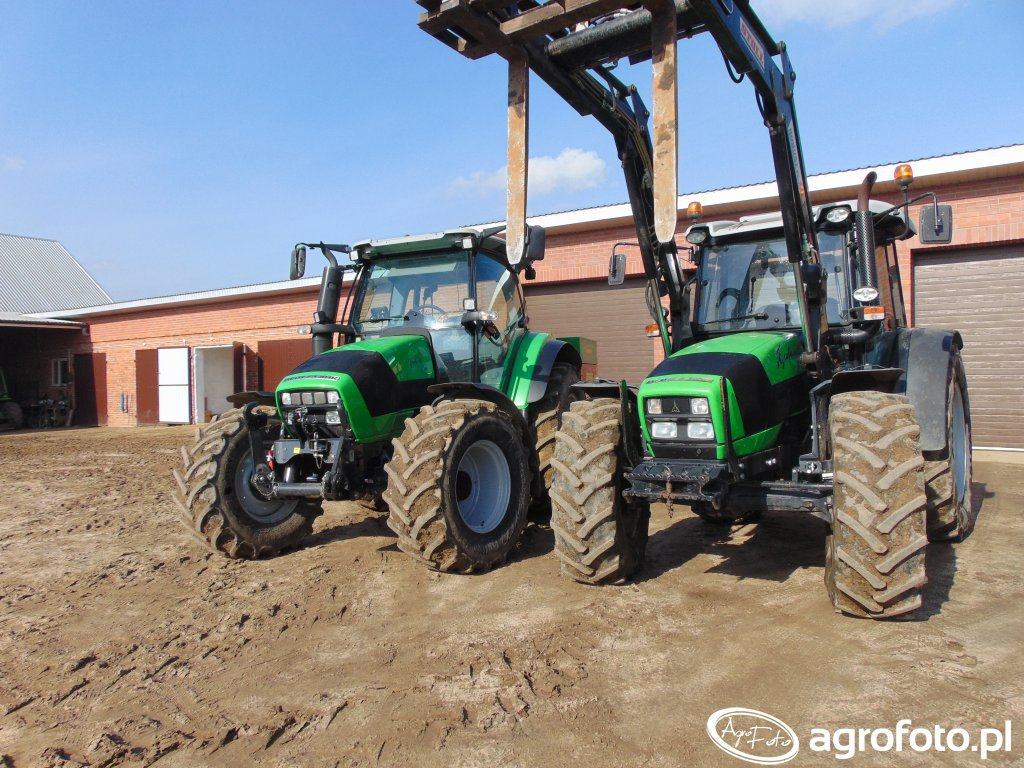 Deutz-Fahr Agtotron K420 & Brzeg MXpreium & Deutz-Fahr Agrofarm 85