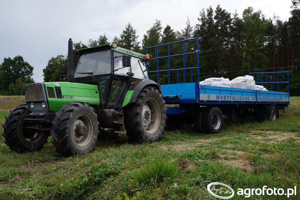 Deutz-Fahr DX 6.05 & Krone