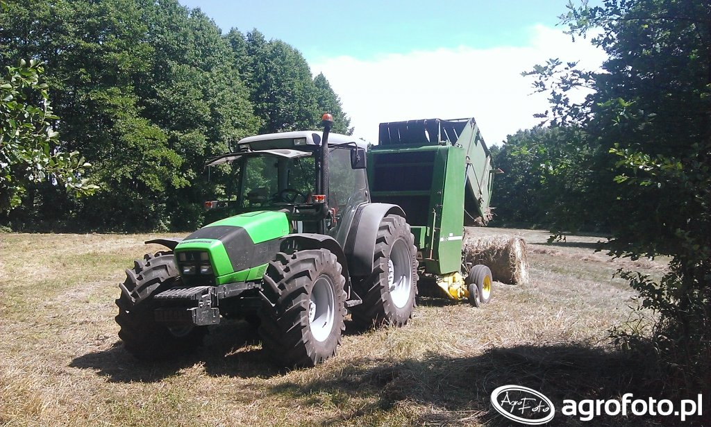 Df Agofarm 420- John deer 550