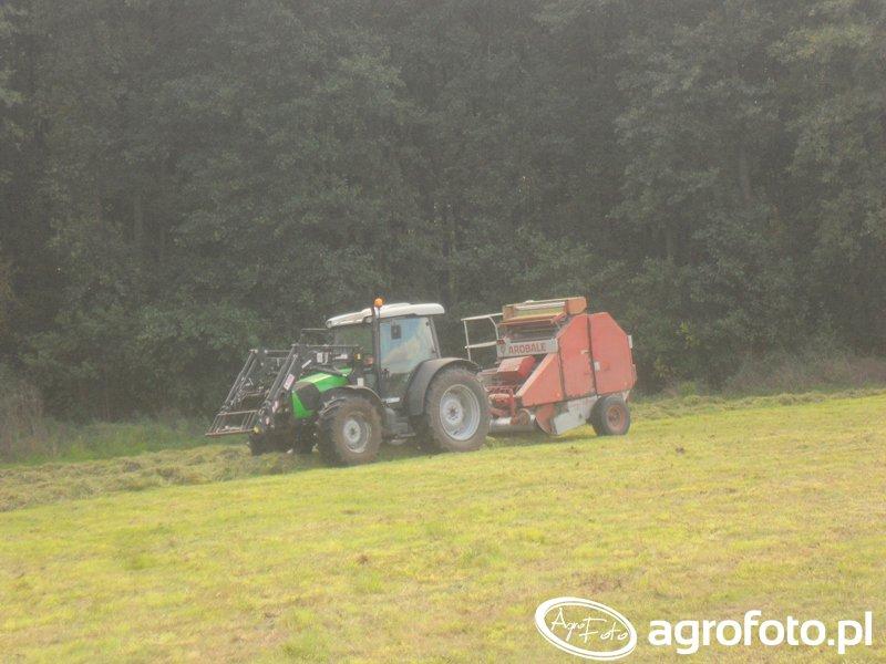DF Agrofarm 410 + Arobale 44s
