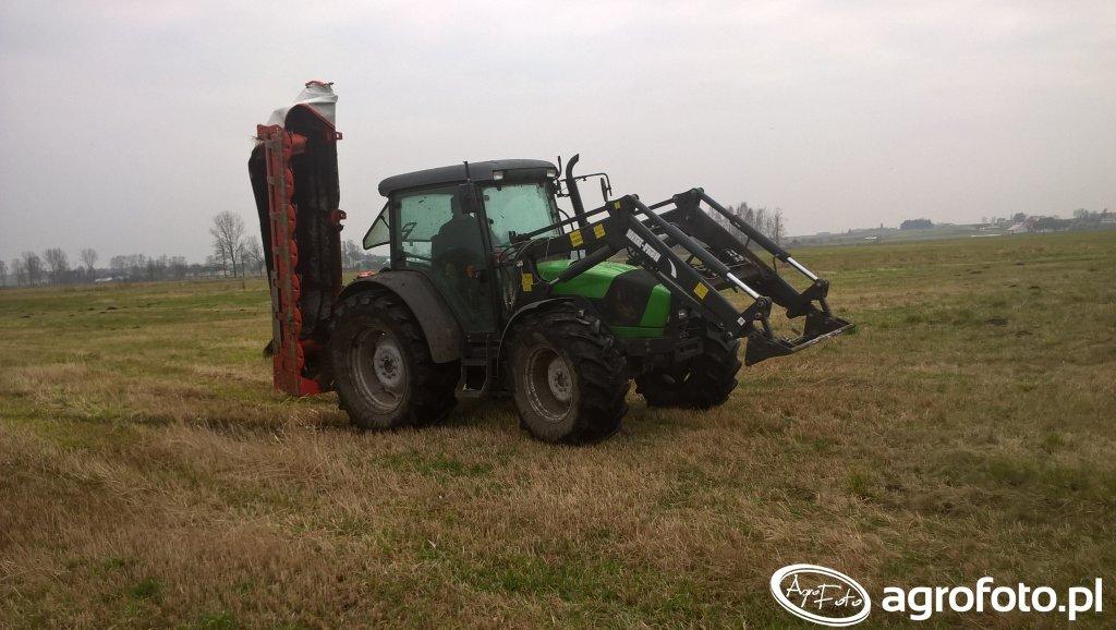 DF Agrofarm 420 i KUHN GMD280