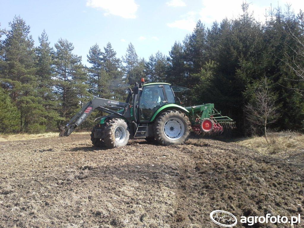 DF Agrotron 85 + Hassia DP 225