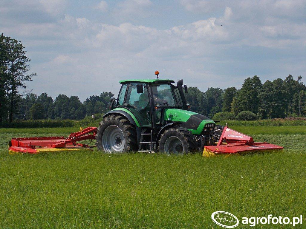 DF Agrotron TTV 1145 & Pöttinger Catnova 260 & Novacat 265 HED