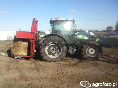 Deutz-Fahr Agrofarm 430 & wycinak BVL