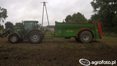 Deutz-Fahr Agrofarm i Pronar