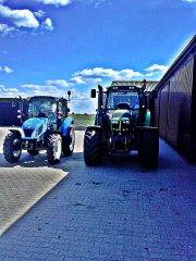 Deutz Fahr 6150 Cshift & New Holland T4.75