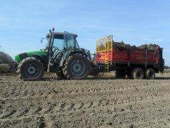 Deutz-Fahr Agrofarm 420 & Metal-Fach n267/1