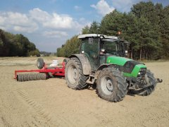 Deutz-Fahr Agrofarm 430 & Expom Tytan 5,30/500