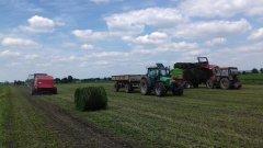 Deutz-Fahr Agrofarm 430 i Zetor 7340