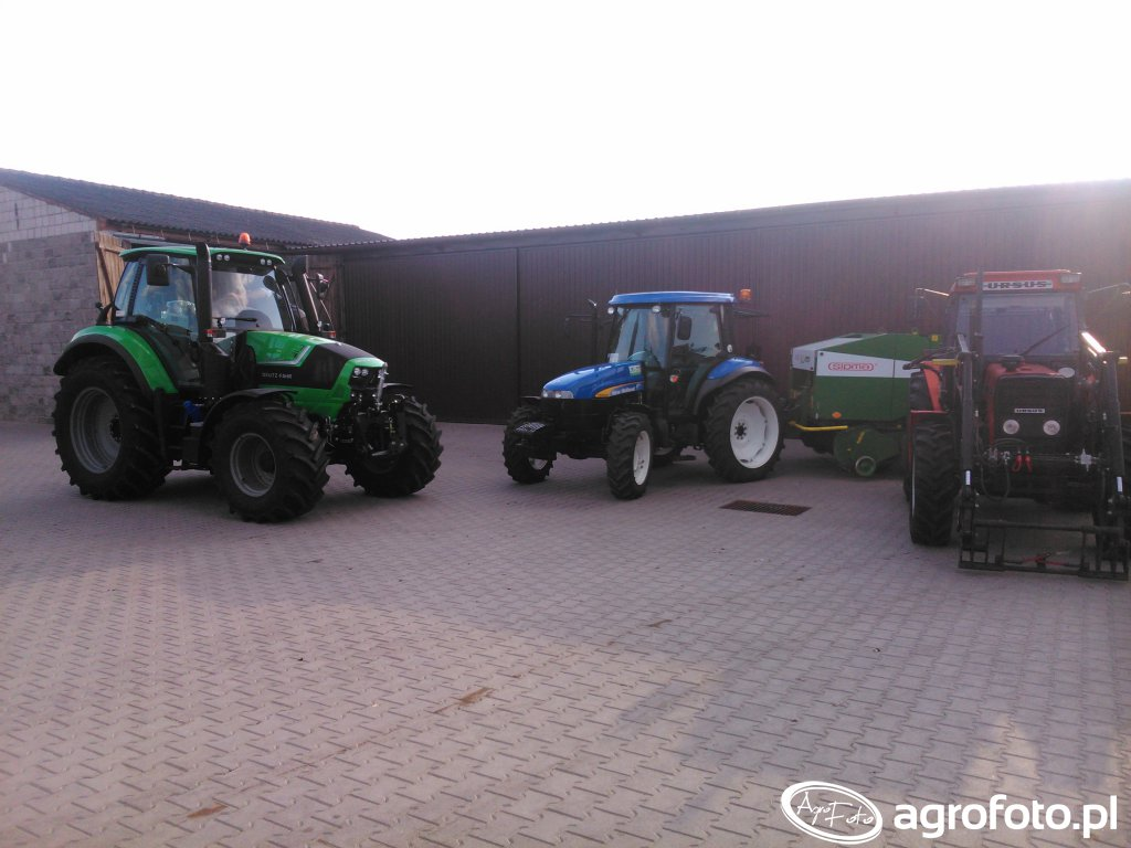 Ursus 5314, New Holland TD 5020, DEutz Fahr 6150 Cshift