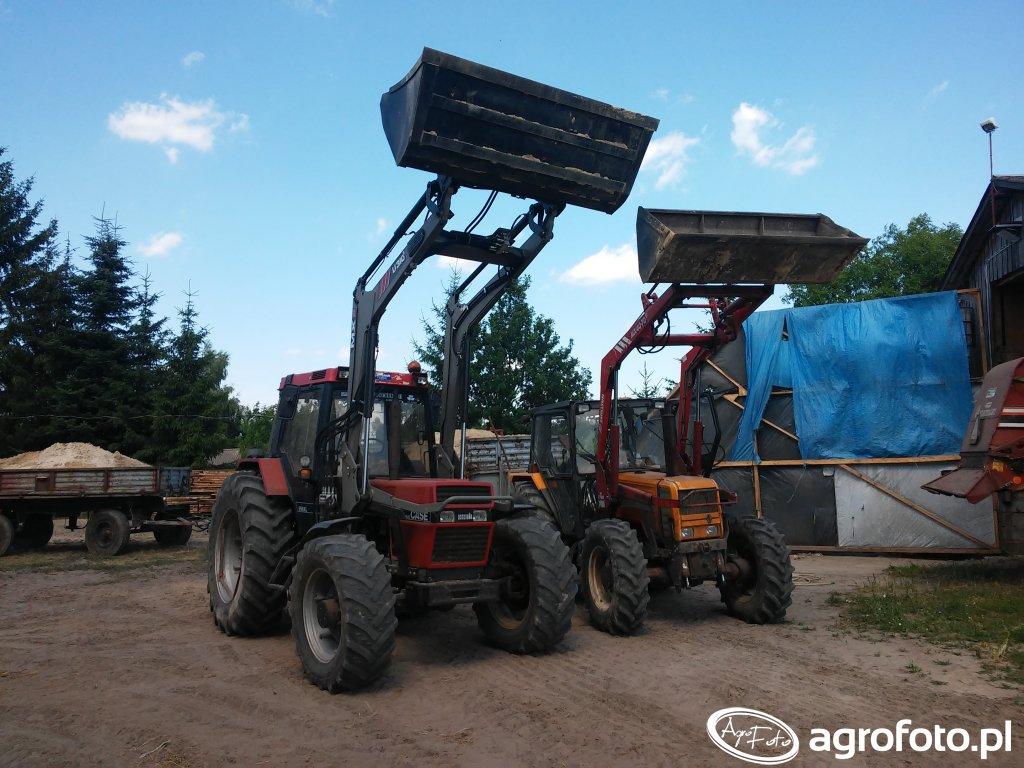 Case 956 & MX U310S i Renault 90-34mx & MX 40-70m