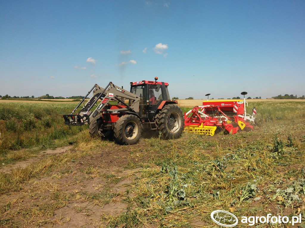 Case 956 + MX U310S +  POTTINGER TERRADISC 3001 & VITASEM 302 ADD