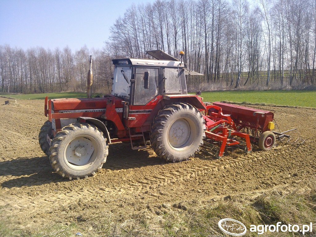 Case International 1055 &Agro-Masz &Poznaniak