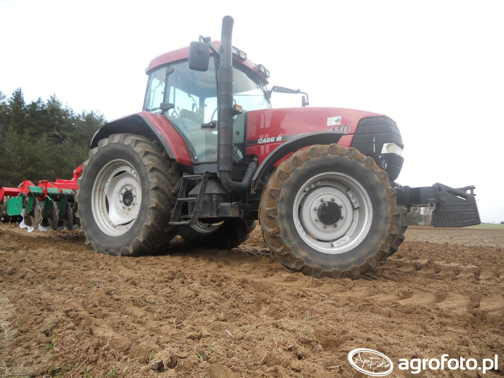 Case mx110 & agro-masz at30 (wał packer)