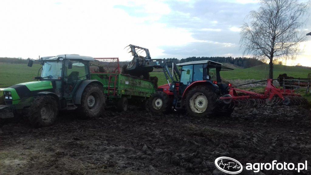 Same Silver 100.4 & Deutz Fahr Agroplus 410