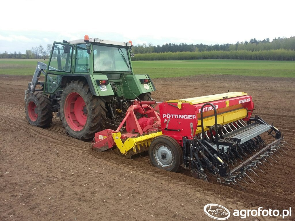 Pottinger vitasem 300 & Fendt 310 LSA