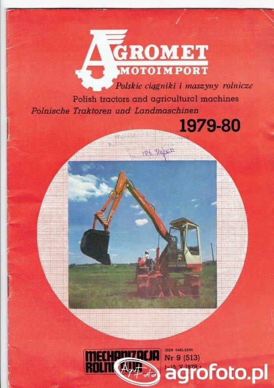 Agromet Motoimport - Polskie Ciągniki i Maszyny Rolnicze 1979-80