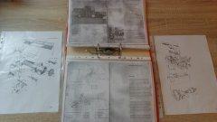 Instrukcja obsługi & katalog części Volvo 1130, s830