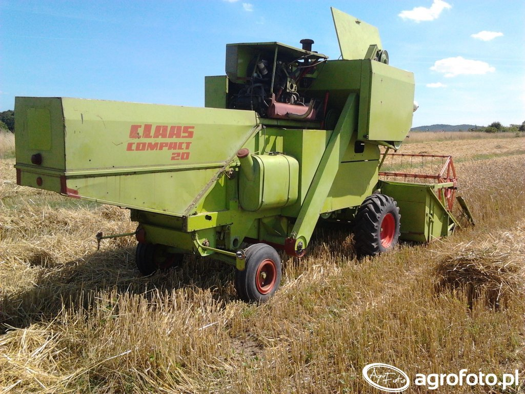 Claas Compact 20