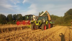 Claas Avero 160 &  Claas Arion 430