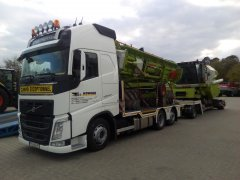 Claas Avero 240 Transport