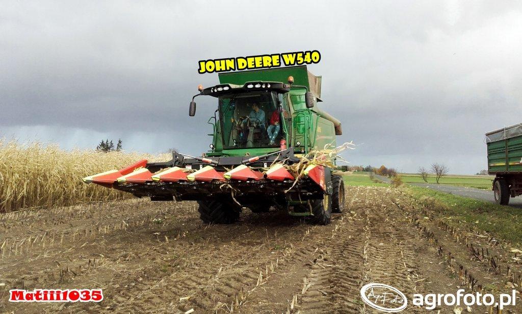 John Deere W540