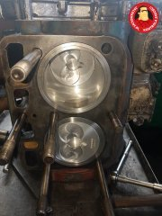 Generalny remont silnika Ursus C-330