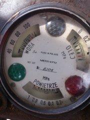Ursus C330M wskaźnik temperatury