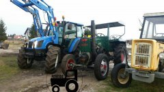 Ursus C45 & New Holland T5060 /Polmot-Warfama 6,Ursus C360 3P