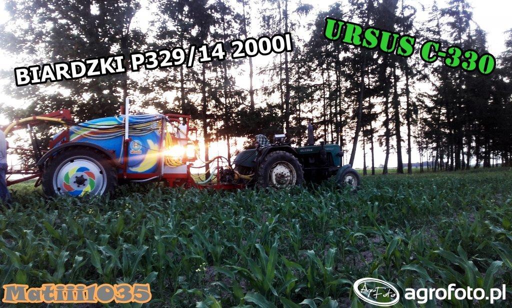Ursus C-330 + Biardzki P329/14 2200l