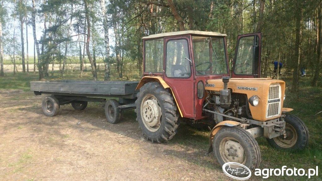 Ursus C-330 & wóz
