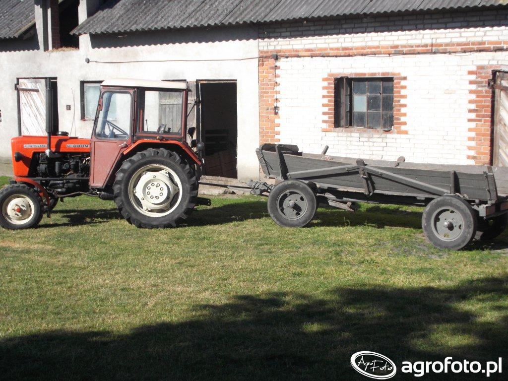 Ursus C 330M + wóz