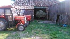 MF 235 i wóz &Ursus C-360