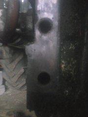 Otwory pod wspornik
