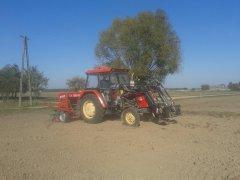Ursus c-360 & Agro-Masz Sr300